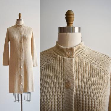 Vintage Long Cardigan Sweater by milkandice