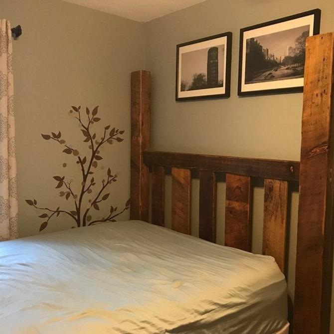 FREE SHIPPING! The Blue Ridge - Reclaimed Wood Four Poster Bed Frame by BarnWoodFurniture