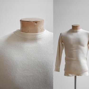 Vintage Heavy Thermal Shirt by milkandice