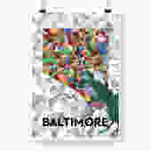 Baltimore Print
