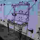 Salterini wrought iron bakers rack etagere by thegraygarden