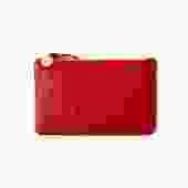 Cherry Red Wallet Clutch