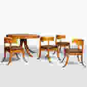 Dining Table & Chairs by Kaj Gottlob