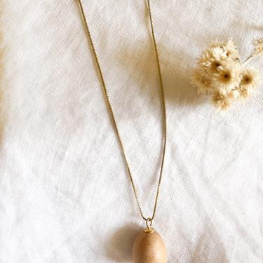 Sophie Monet Petite Egg Necklace