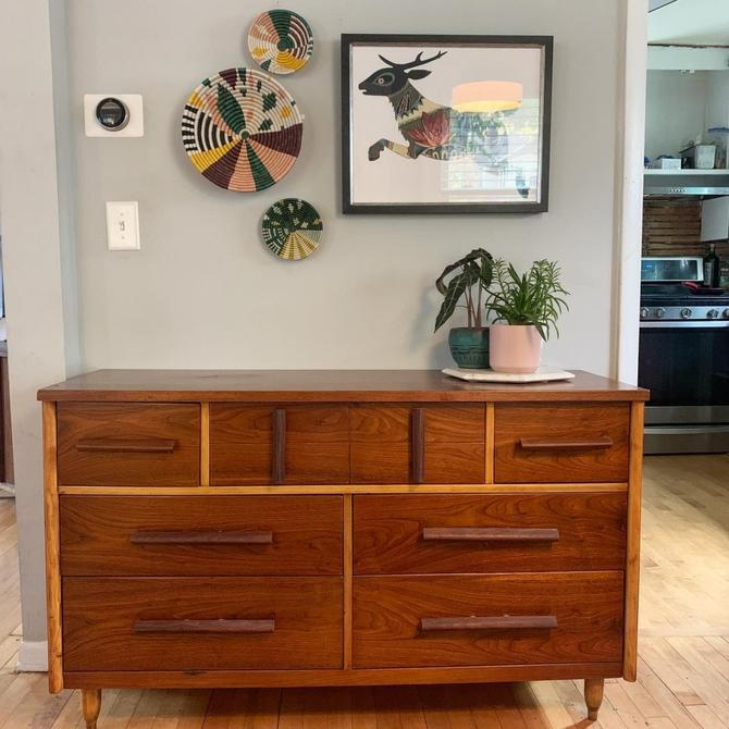 Mid-Century Style Repurposed Lowboy Dresser
