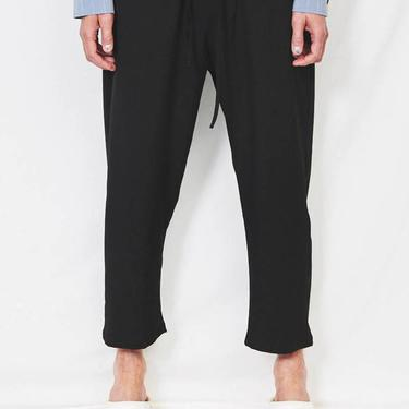 Black Suiting Easy Pant