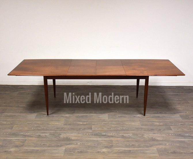 Walnut Butterfly Leaf Dining Table by mixedmodern1