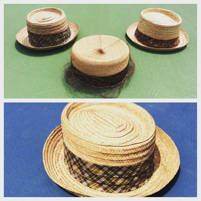Vibe with these 1950s straw hats Tropical summer sale continues #meepsdc #newarrivals #1950s #summersale #summerhats #adamsmorgan
