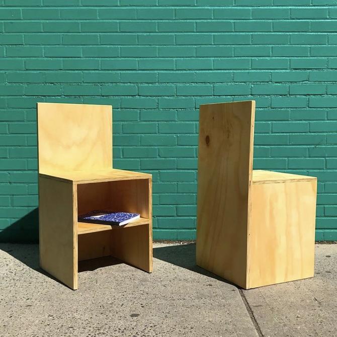 Plywood Shelf Chair