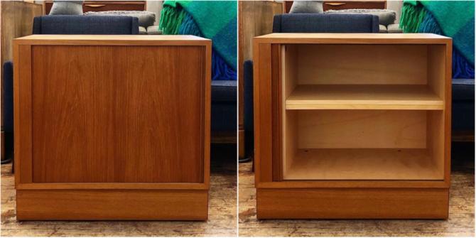 Poul Hundevad Teak Cabinets