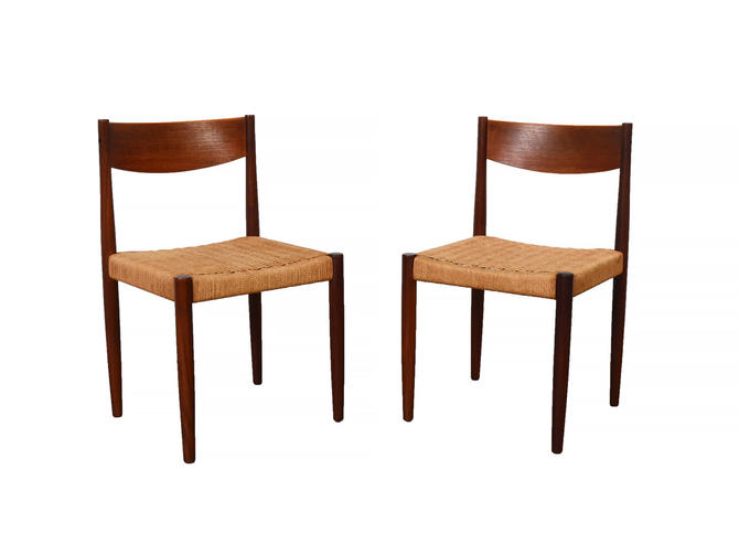 Teak Dining Chair by Frem Rojle designed by Poul Volther Denmark Mid Century Modern by HearthsideHome