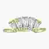MODERN LOVE CROWN RING - CUBIC ZIRCONIA