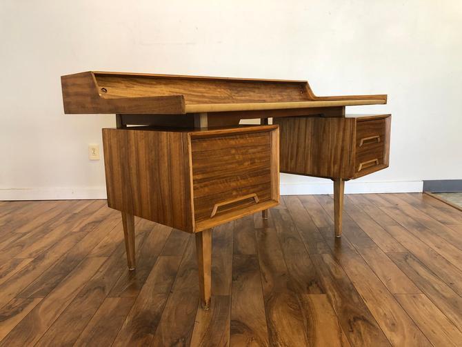Milo Baughman Drexel Perspective Writing Desk by Vintagefurnitureetc