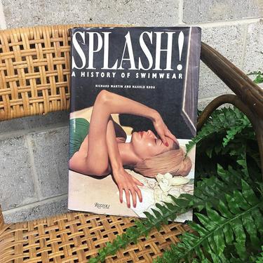 Vintage Splash! A History of Swimwear Book Retro 1990s Rizzoli New York + BW + Color Photography + Art + Fashion + Swim + Coffee Table Book by RetrospectVintage215