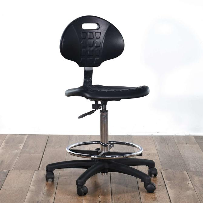 Black Adjustable Height Office Chair