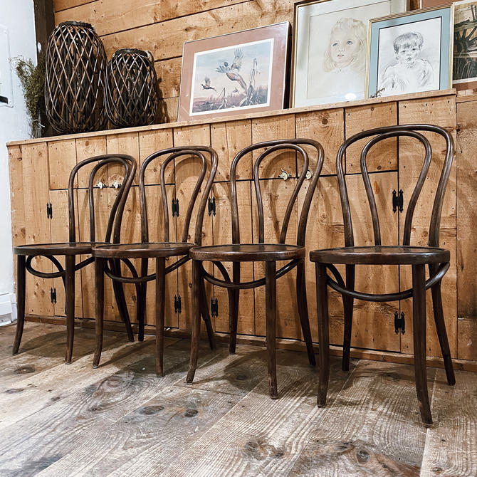 Vintage Bentwood Dining Chair by VintageandSwoon