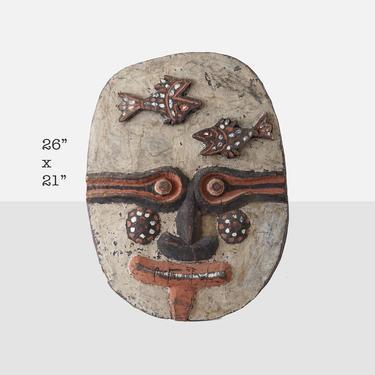 vintage african shield mask vintage african shield african mask