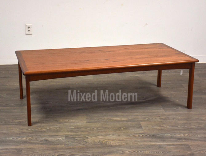 Danish Modern Teak Coffee Table by mixedmodern1