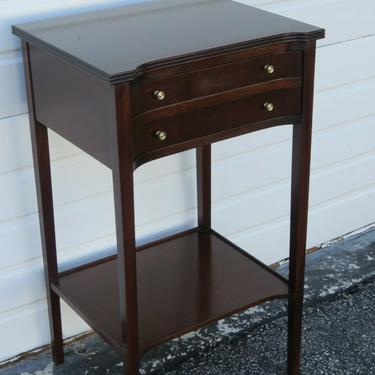 Mahogany Tall Nightstand Side End Table by Cradition House 2365
