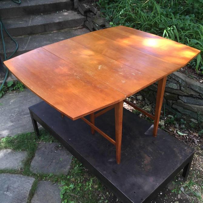 Paul McCobb Planner Group Drop Leaf Dining Table With Leaves Mid - Dining table with 3 leaves