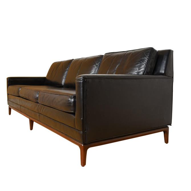 American Modernist – Designer Leather Sofa