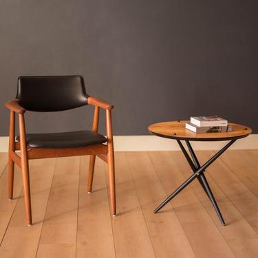 Vintage Hans Bellmann Round Tripod End Table for Knoll by MidcenturyMaddist