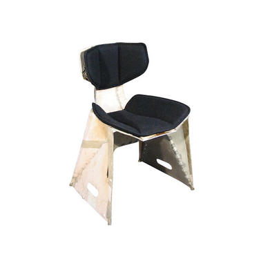Organic Modern Industrial Chair