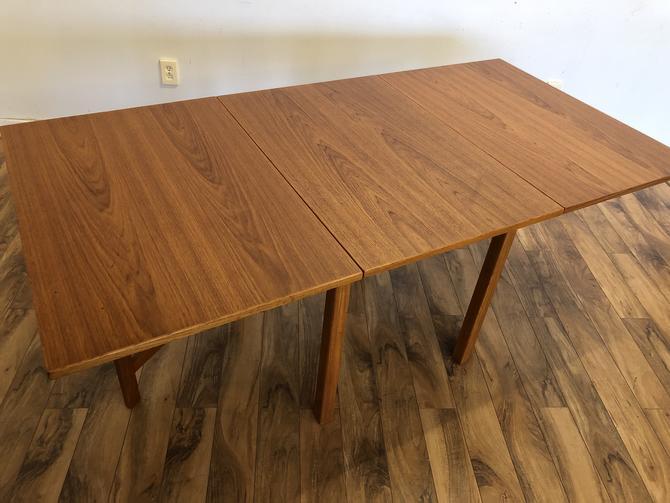 Danish Teak Gate-Leg Dining Table