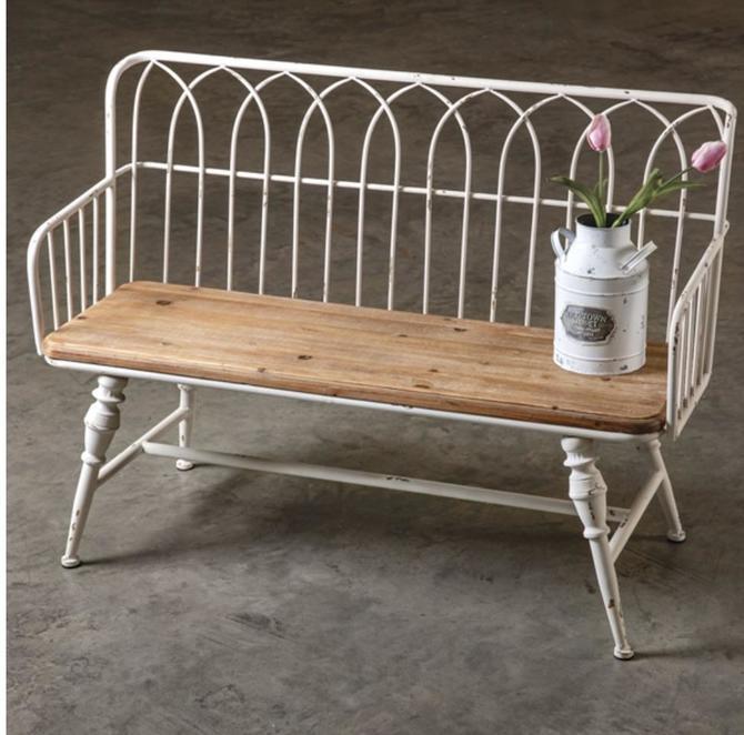 Farmhouse Coatroom Bench