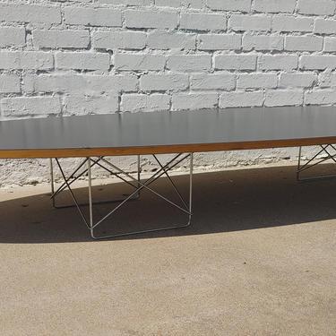 Mid Century Modern Herman Miller Elliptical Coffee Table by VintageVaultTulsa