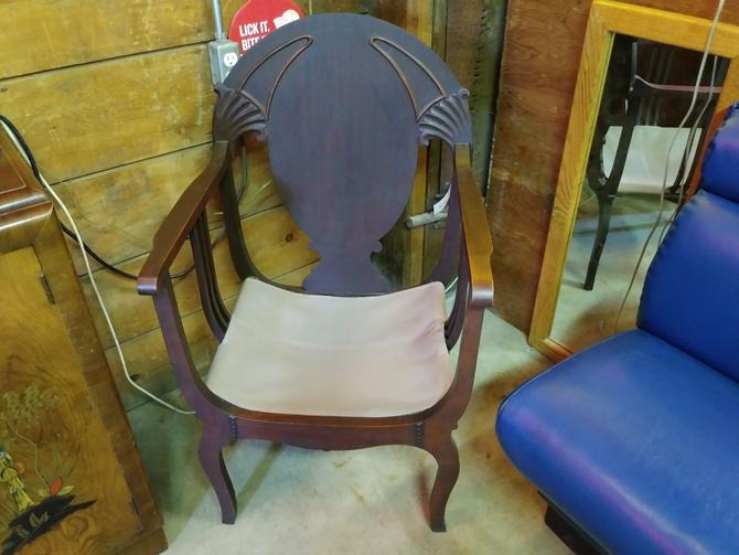 Beautiful Victorian wooden chair