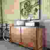 Mid Century Maple Dresser By Brown Saltman