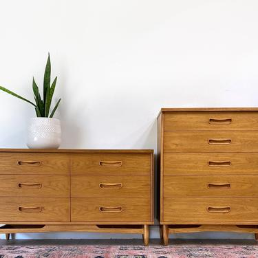 AVAILABLE - Mid Century Dresser Set by JulieSimpleRedesign