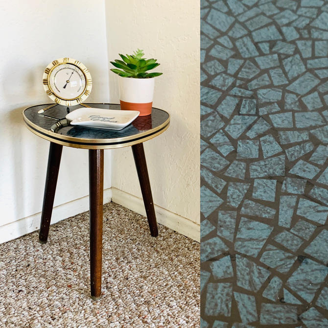 Vintage Formica Plant Table by dadacat