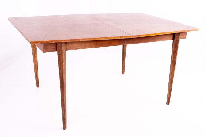 Albert Parvin for American of Martinsville Diamond Dining Table (1 leaf) - mcm by ModernHill