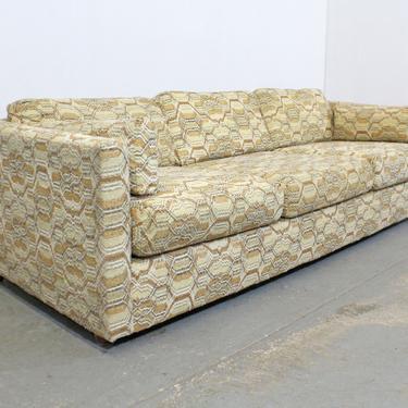 Mid-Century Danish Modern Milo Baughman Style Bassett Sofa by AnnexMarketplace