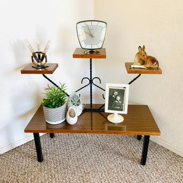 50s Tiered Plant Stand by dadacat