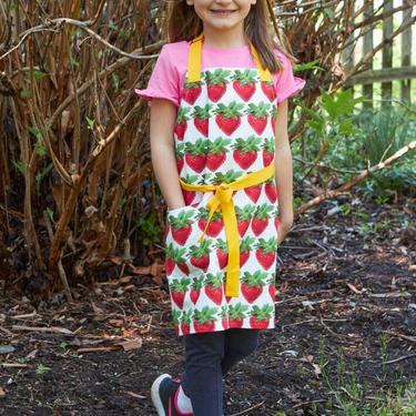Strawberry Child Apron