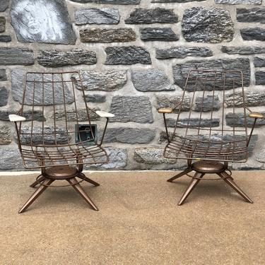Wire Patio Chairs