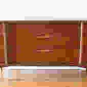 Mid Century Modern Bassett Low Dresser Credenza