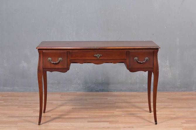 Provincial 3-Drawer Cherry Desk