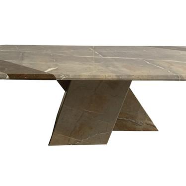 Gray Marble Cocktail Table, 1970's
