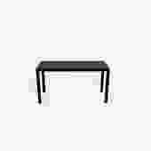Minotti Brown Leather Bench