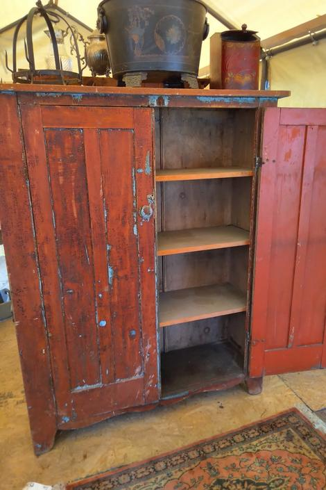 Stunning Distressed Cottage Cabinet