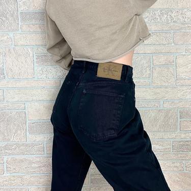 Calvin Klein CK Black Jeans / Size 29 by NoteworthyGarments