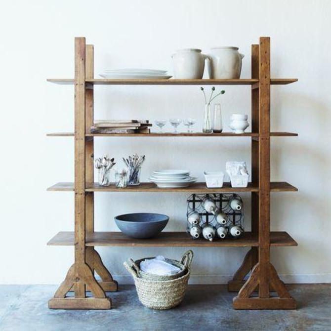 Reclaimed Wood Etagere