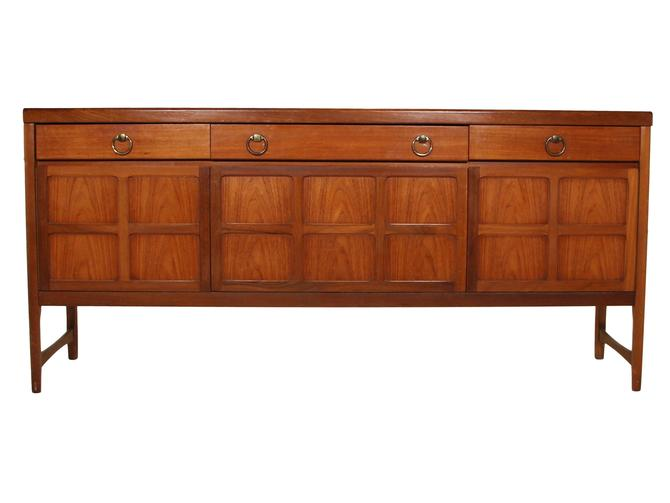Mid Century Teak Credenza By Nathan Furniture by RetroPassion21