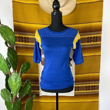 Vintage Single Stitch Tee Jersey Style XS-Med by DesertCactusVintage