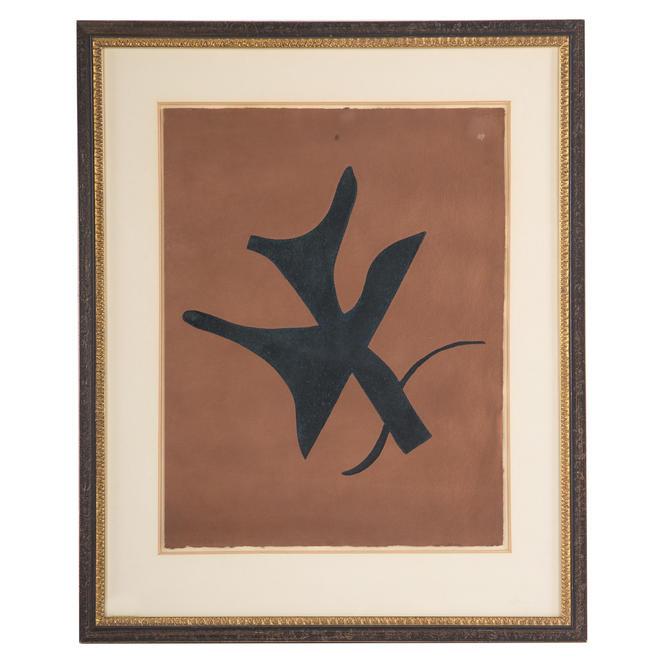 """Georges Braque. """"Oiseau Vert"""""""