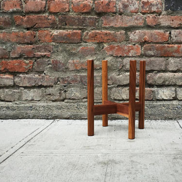"""10"""" Midcentury Plant Stand by BevelDownDesign"""
